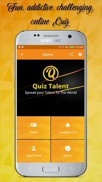 Quiz Talent screenshot 1