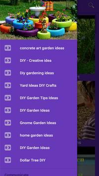 DIY Garden Ideas الملصق