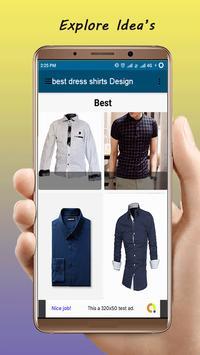 Best Dress Shirts Design screenshot 1