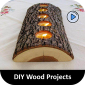 DIY Wood Craft Projects icon