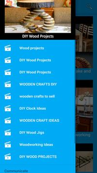 DIY Wood Craft Projects poster