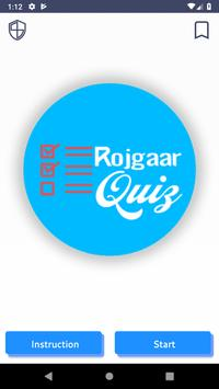 Rojgaar Current Affair's Quiz poster