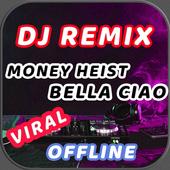 🎶 DJ Bella Ciao Money Heist Full Bass Offline 💖 icon