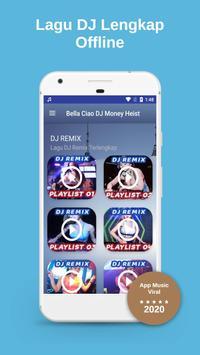 🎶 DJ Bella Ciao Money Heist Full Bass Offline 💖 poster