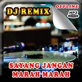 DJ Sayang Jangan Marah Marah Remix Offline icon