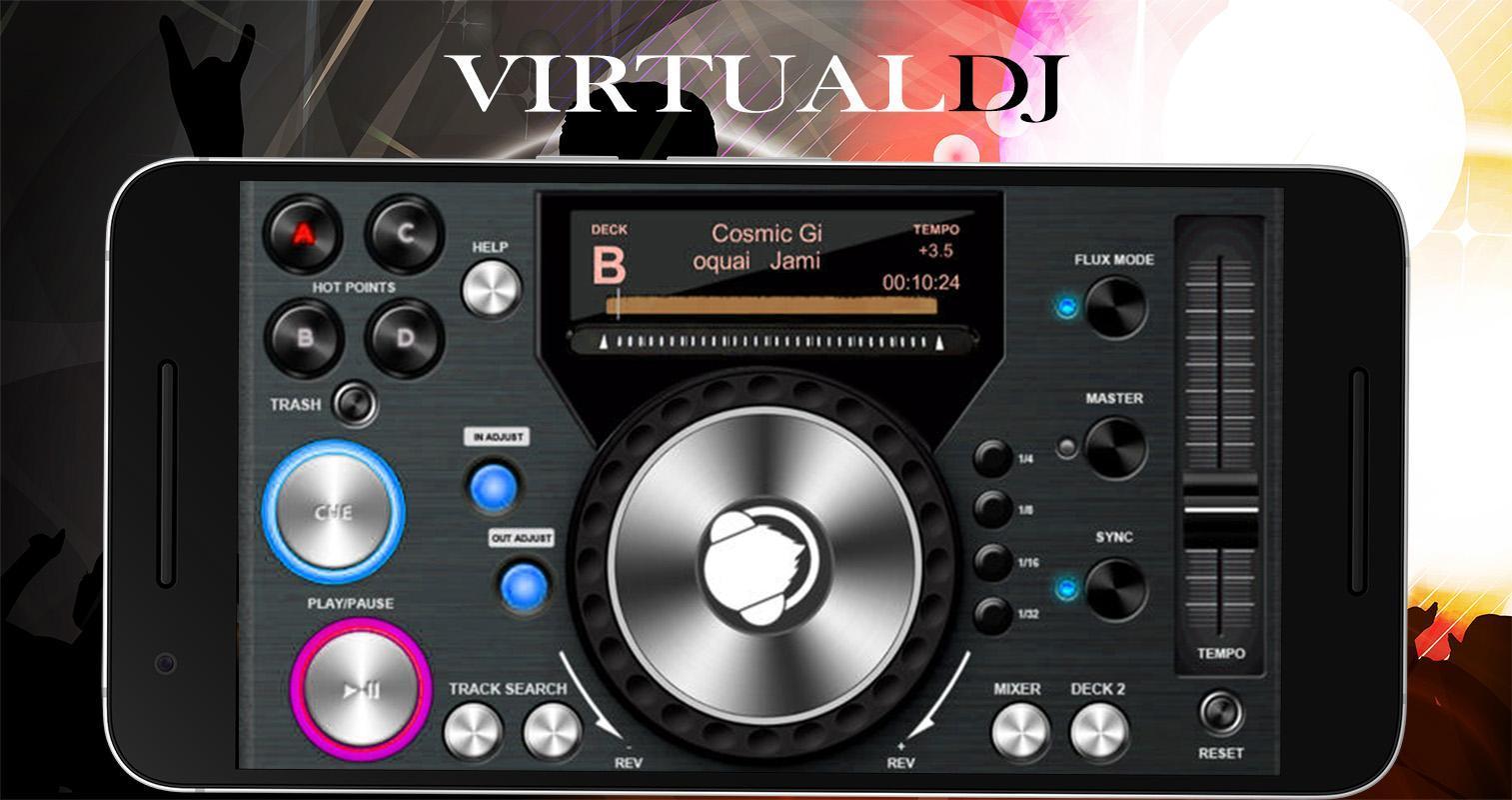 virtual dj gratuit pour android