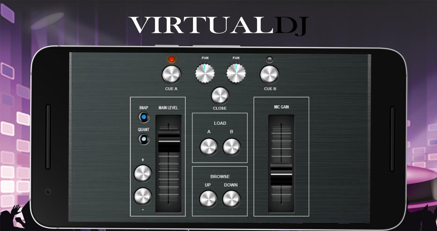 virtual dj free music