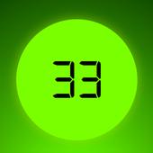 Tasbih Dzikir Counter Digital ikona