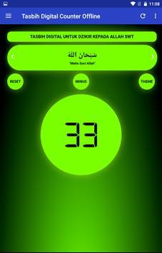 Tasbih Dzikir Counter Digital ảnh chụp màn hình 8
