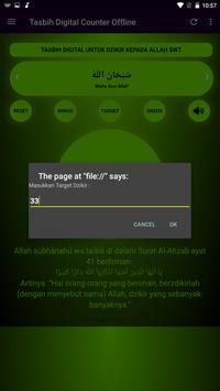 Tasbih Dzikir Counter Digital screenshot 6