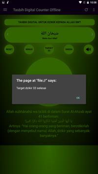 Tasbih Dzikir Counter Digital screenshot 7