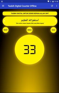 Tasbih Dzikir Counter Digital ảnh chụp màn hình 11