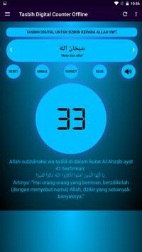 Tasbih Dzikir Counter Digital ảnh chụp màn hình 1
