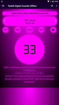 Tasbih Dzikir Counter Digital screenshot 2