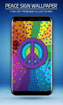 Peace Sign Wallpapers الملصق