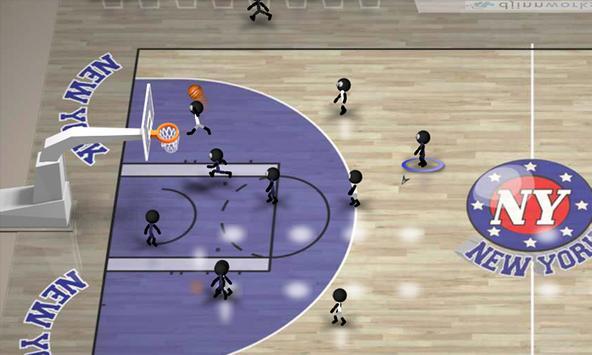 Stickman Basketball screenshot 4