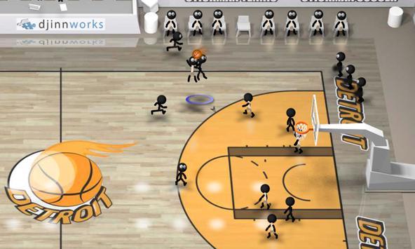 Stickman Basketball screenshot 2