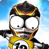 Icona Stickman Downhill Motocross