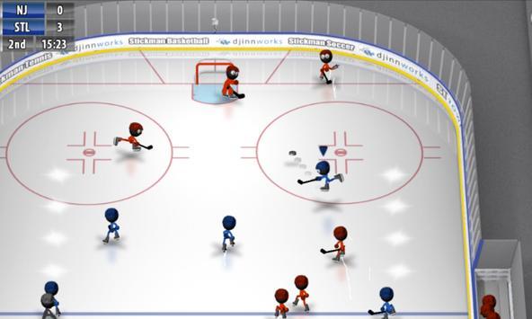 Stickman Ice Hockey poster