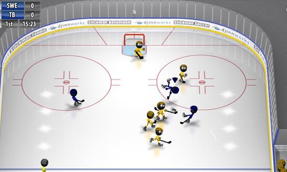 Stickman Ice Hockey screenshot 2
