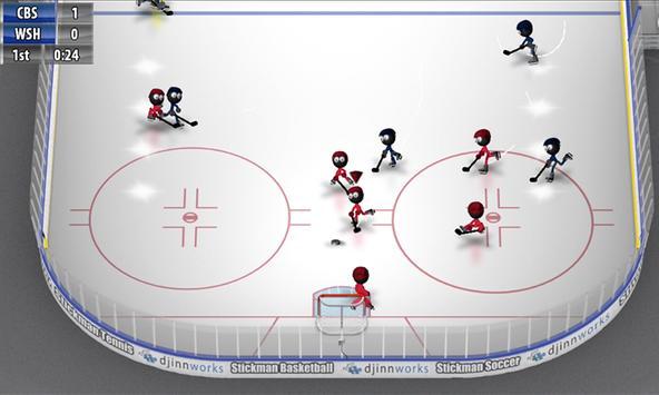 Stickman Ice Hockey screenshot 3