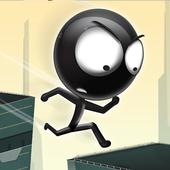 Stickman Roof Runner icon