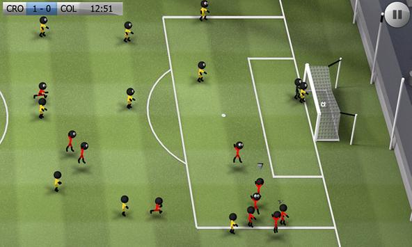 Stickman Soccer screenshot 4
