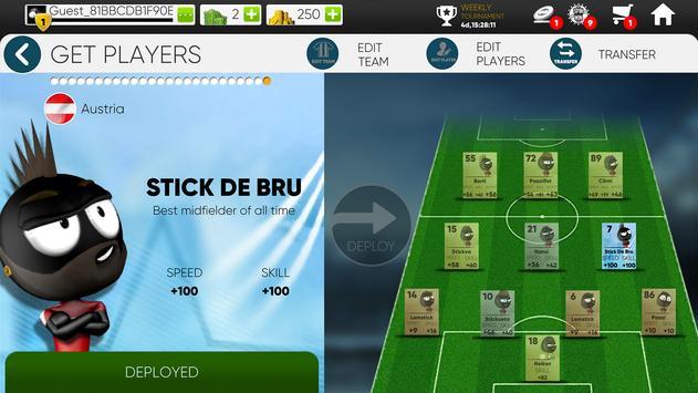 Stickman Soccer 2018 screenshot 15