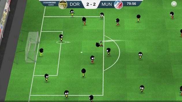 Stickman Soccer 2018 screenshot 1