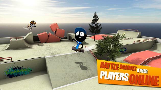 Stickman Skate Battle screenshot 10