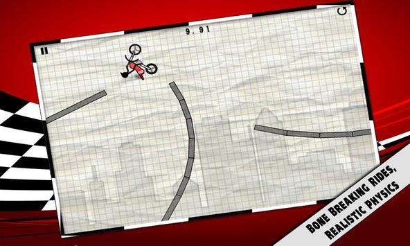 Stick Stunt Biker poster