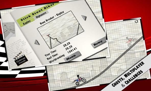 Stick Stunt Biker screenshot 1