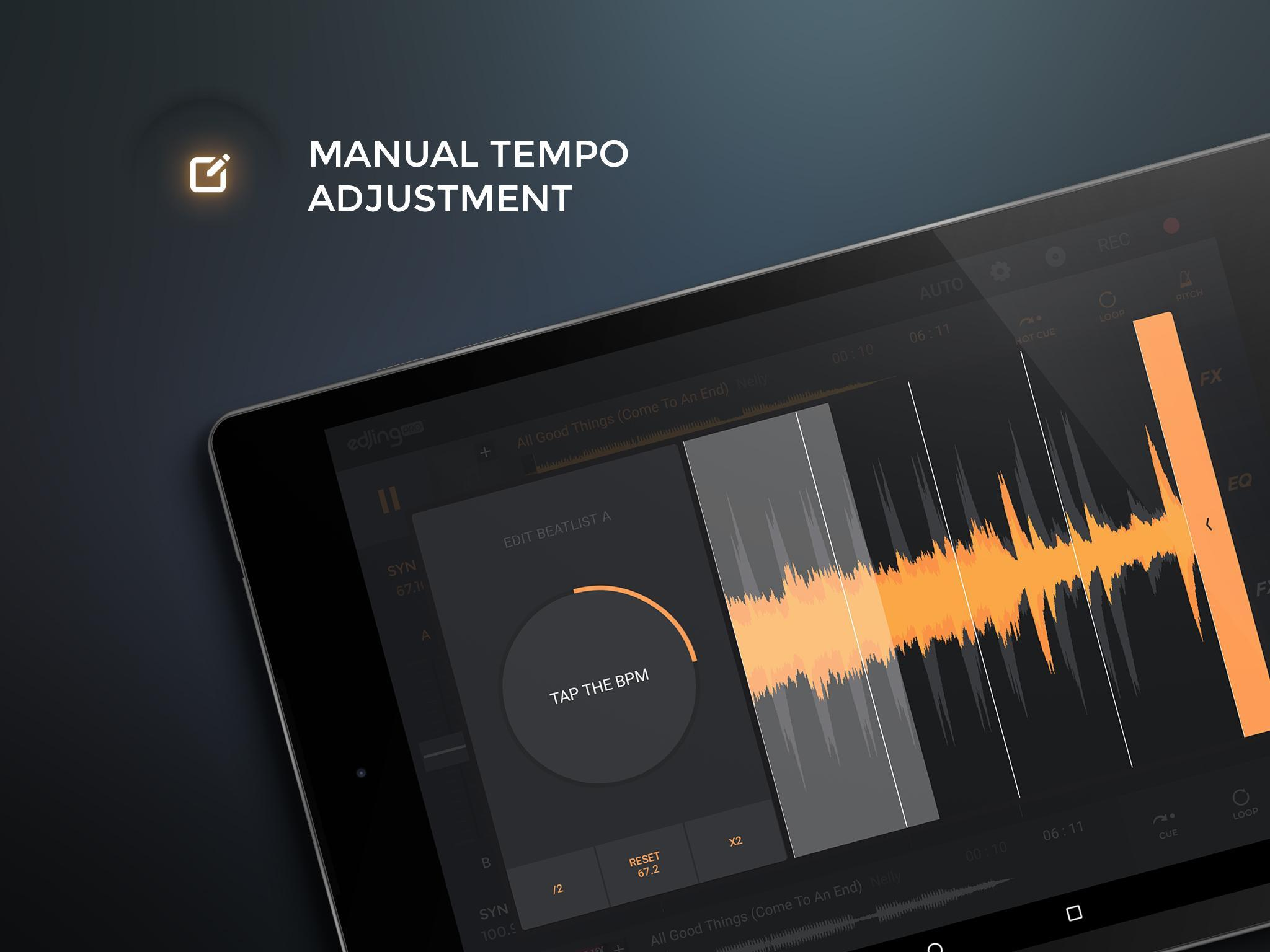 edjing PRO LE - Music DJ mixer for Android - APK Download