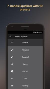 Equalizer music player booster screenshot 4