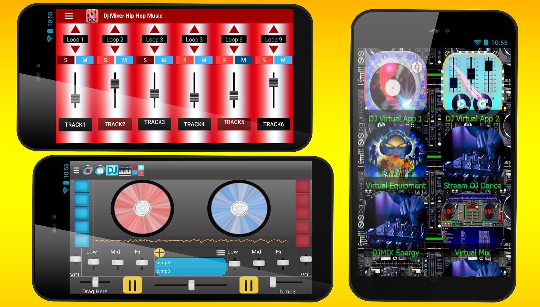 Virtual dj for tablets