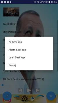 Reis (ak parti marşları 2019) internetsiz zil sesi screenshot 1