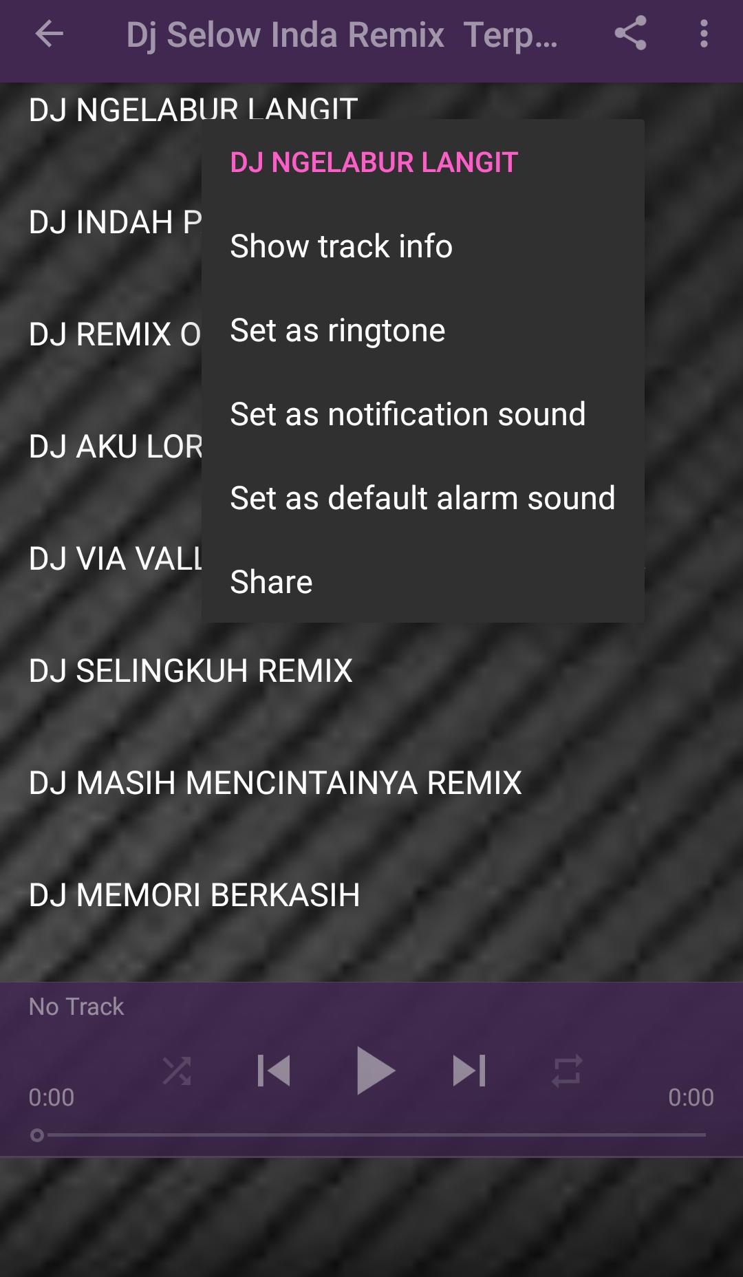 Dj Harusnya Aku Vs Dj Lelah Mengalah For Android Apk Download