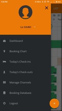 Poster DJUBO - Hotel Management App