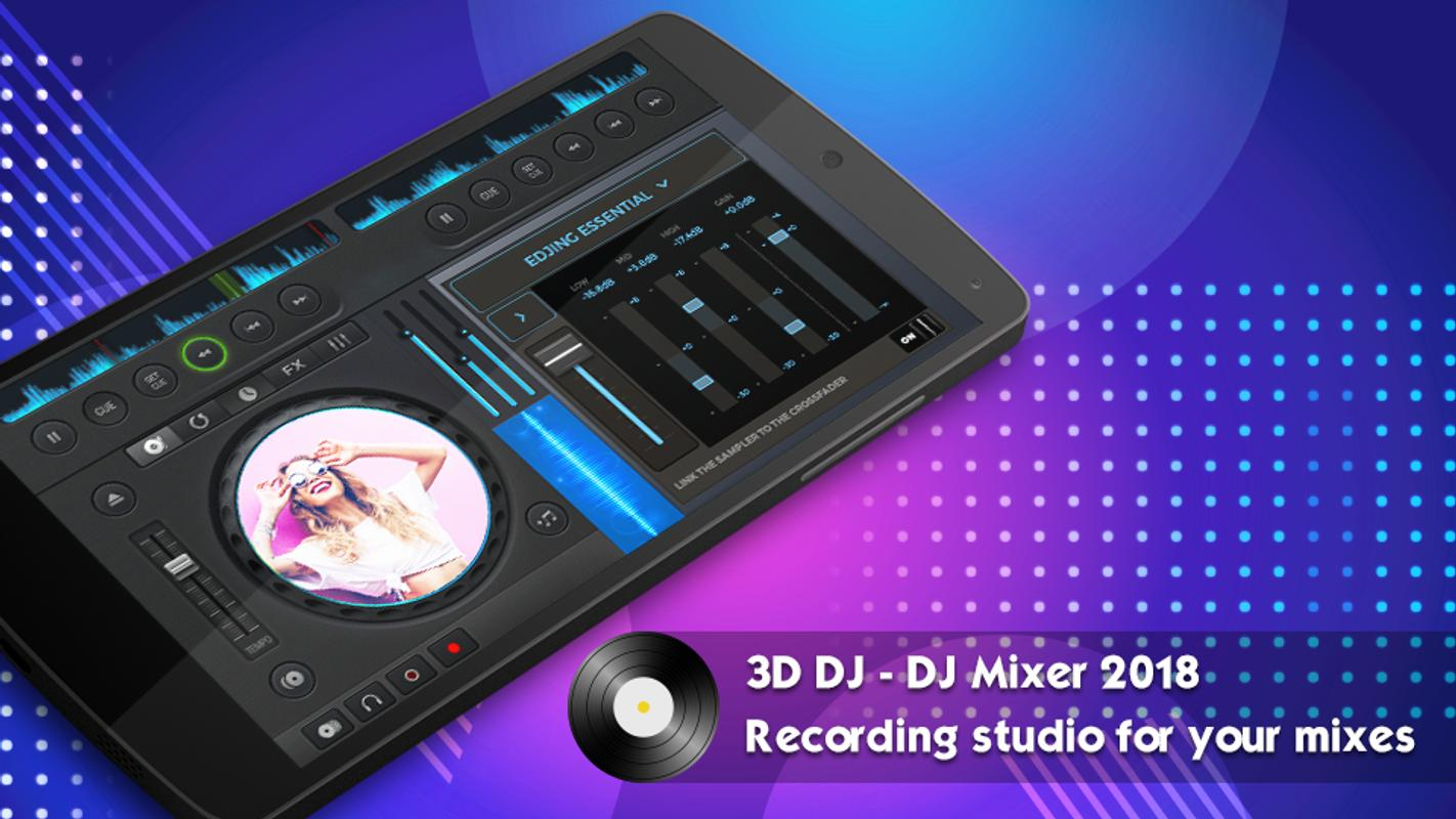 3d Dj Music Mixer With Virtual Dj For Android Apk Download