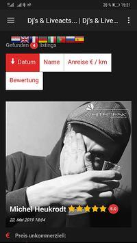 DJVZ.net //  DJ & Liveact Verz. mit Musik & Social screenshot 6