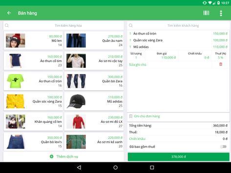 Phần mềm quản lý bán hàng Sapo screenshot 10