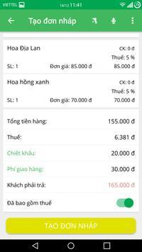 Phần mềm quản lý bán hàng Sapo screenshot 5