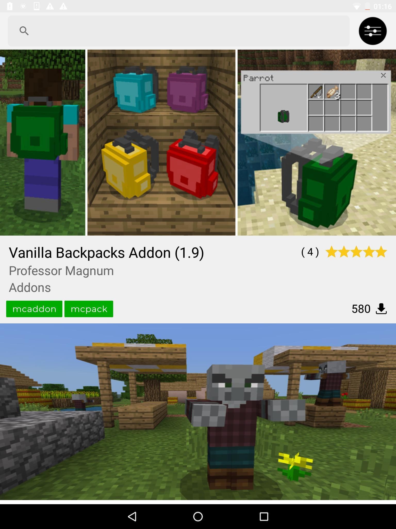 DL - Addons, Maps & More for Minecraft PE for Android - APK