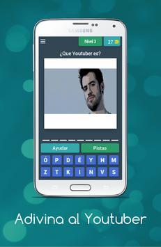 Adivina el Youtuber poster