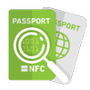 uFR e-passport reader - MRTD reading app-icoon