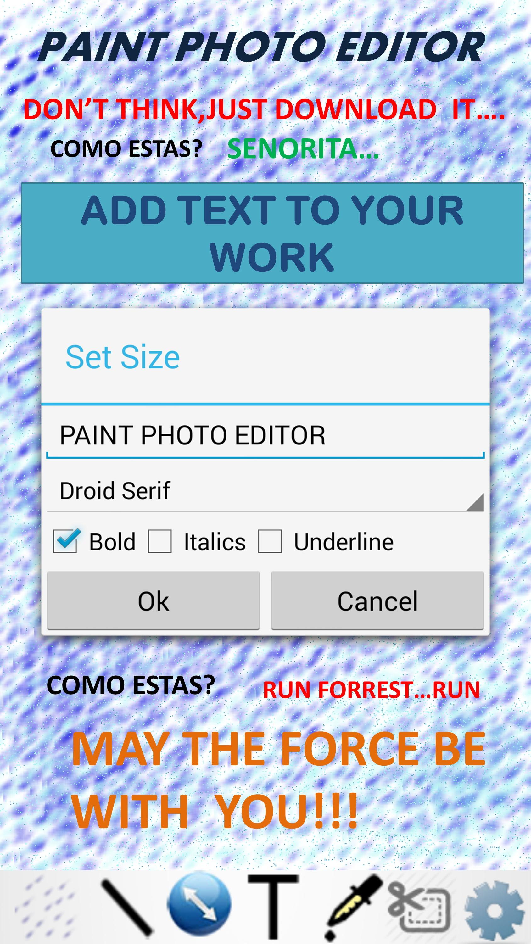 Paint Photo Editor poster