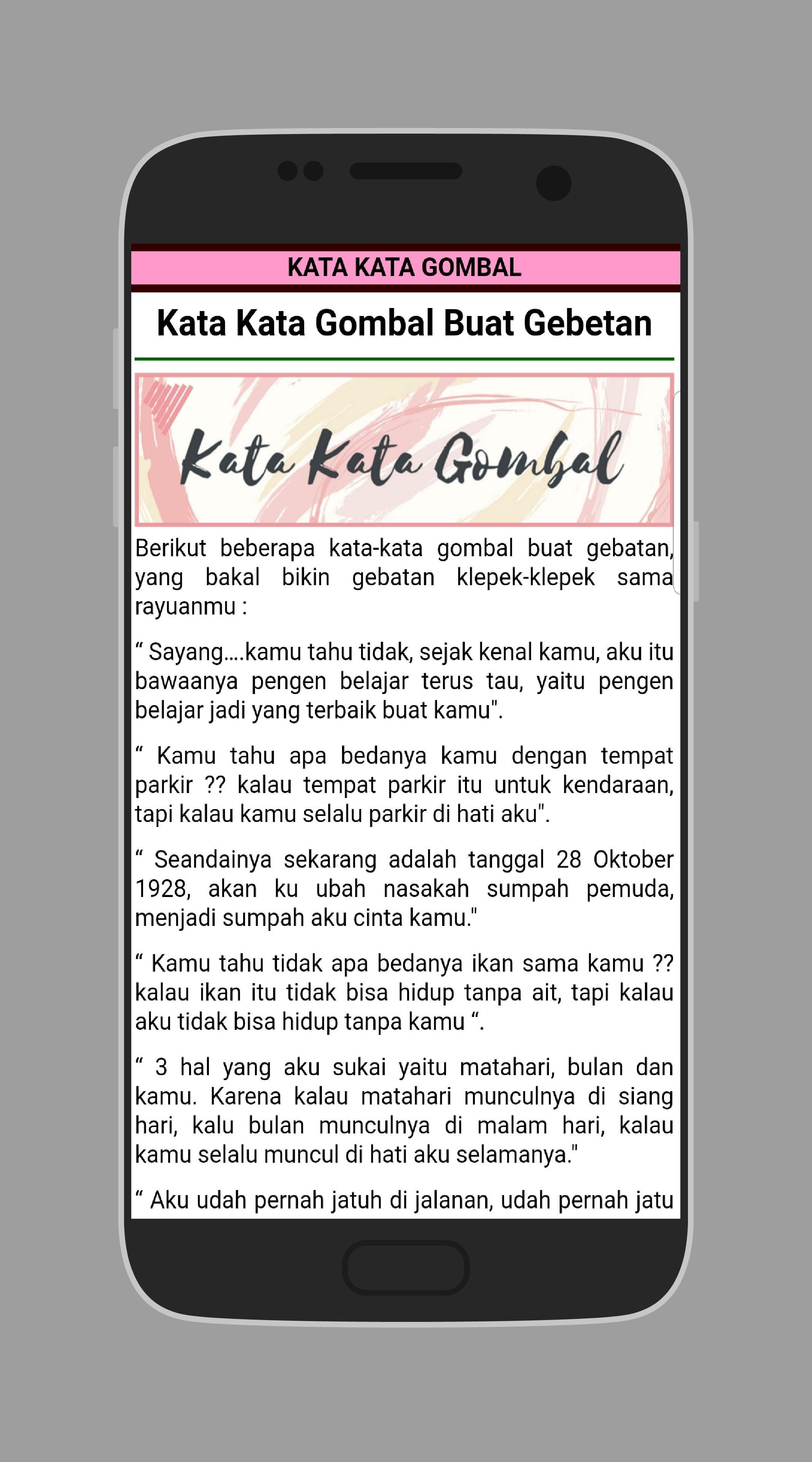Kata Gombal Romantis Gokil Lucu Bijak for Android APK Download