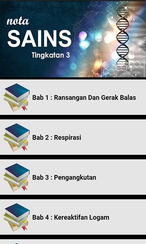Nota Sains Tingkatan 3 For Android Apk Download