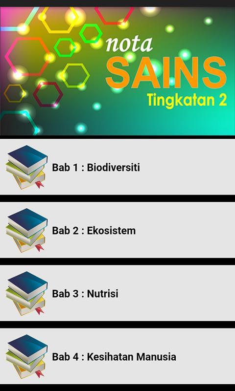 Nota Sains Tingkatan 2 For Android Apk Download