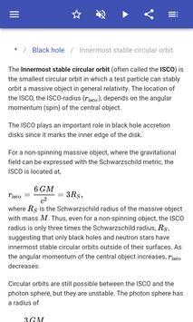 General relativity screenshot 2